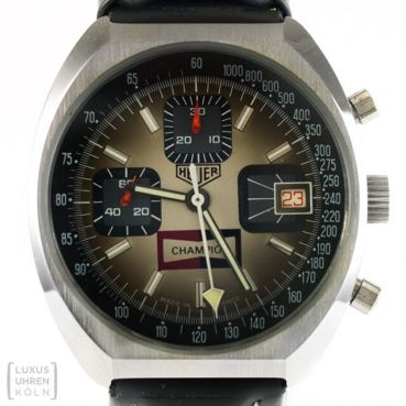 Heuer Spark Plug Champion Chronograph Ref. 1614 Revision 1975