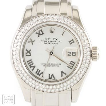 Rolex Datejust Pearlmaster Lady Diamond Revision Ref. 80339