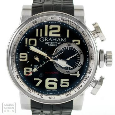 Graham Uhr Silverstone Stowe Classic Steel Automatik Ref. 2BLDC.B11A
