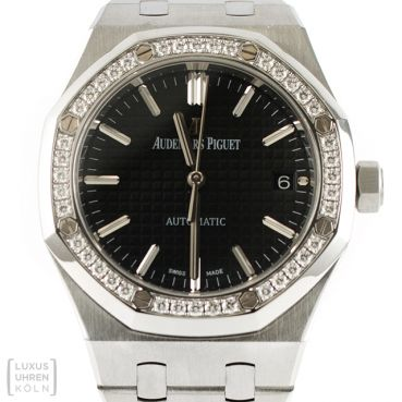 Audemars Piguet Uhr Royal Oak Lady Ref. 15451ST.ZZ.1256ST.01 Diamond Automatik
