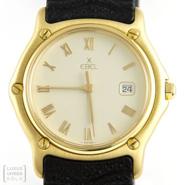 Ebel Classic 750er Gold Quarz Damen Quarz Revision