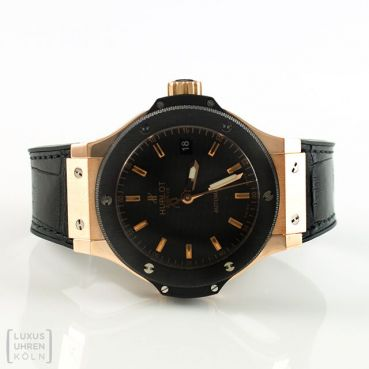Hublot Uhr Big Bang 38mm Roségold Medium Ceramic Automatik Ref. 365.PM.1780.LR