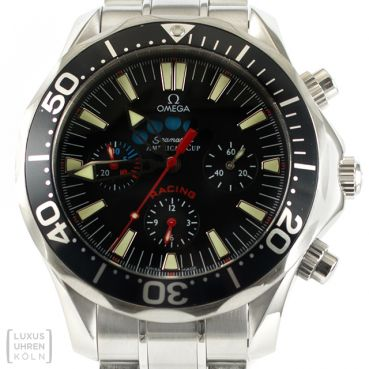 Omega Uhr Seamaster Chronograph Americas Cup Racing Revision Ref. 2569.50
