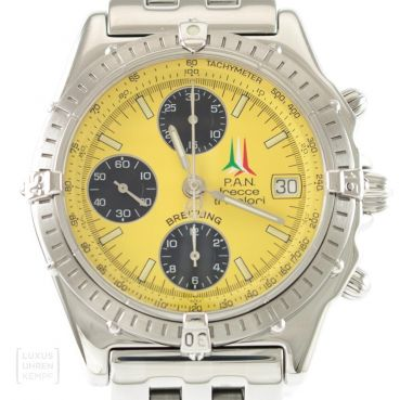 Breitling Uhr Windrider Chronomat Pan Tricolori A13050 Limited Edition
