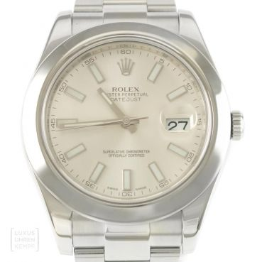 Rolex Uhr Oyster Perpetual Datejust II Edelstahl Ref. 116300