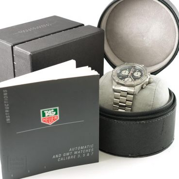 TAG Heuer Professional Chronometer Edelstahl CK 1110-0