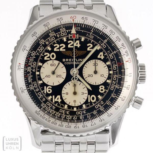 Breitling Uhr Navitimer Cosmonaute Edelstahl A12322
