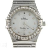 Omega Constellation My Choice Edelstahl Brillanten